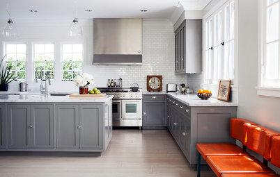 8 Gray Kitchens That Nail Warmth and Balance