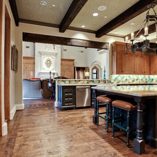 Mediterranean Kitchen by Michael Molthan Luxury Homes Interior Design Group