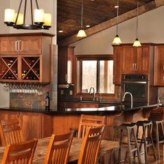 Louisville, OH. Rustic Kitchen