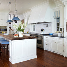 Beach Style Kitchen by Tom Stringer Design Partners