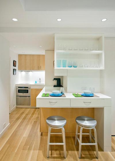 北欧 キッチン by Allen+Killcoyne Architects