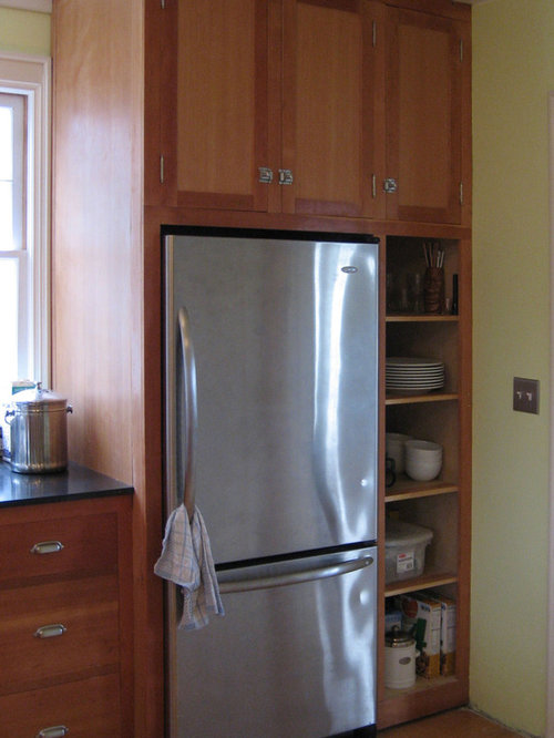 Built In Fridge Home Design Ideas, Pictures, Remodel and Decor