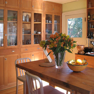 Microhouse fremont cottage - reclaimed fir cabinets