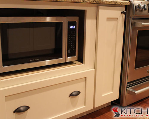 Microwave In Base Cabinet | Houzz