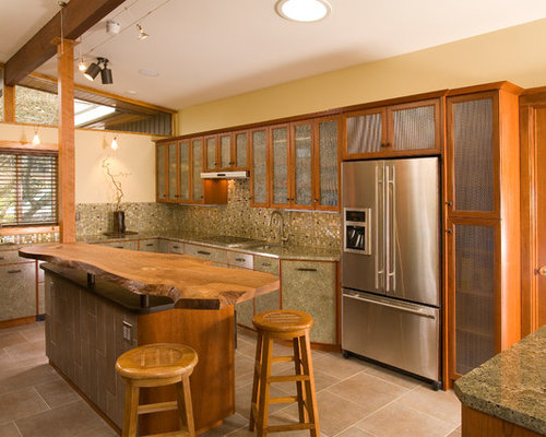 Two Level Countertop Home Design Ideas Pictures Remodel