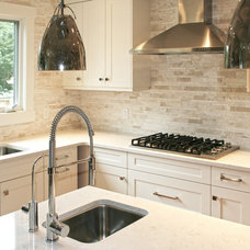 Transitional Kitchen by Ranger Homes Inc
