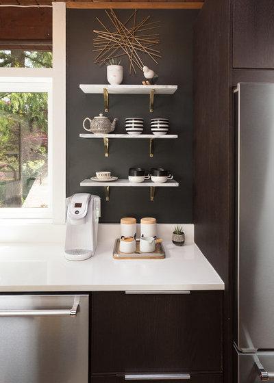 Midcentury Kitchen by Alex Crook Photography