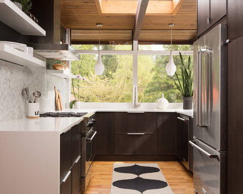 Small Modern Kitchen Interior Design All Time Favorite Midcentury Modern  Kitchen Ideas U0026 Designs Houzz Part 80