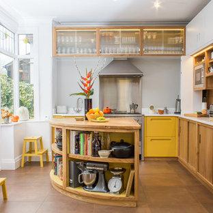 Mid Century inspired kitchen & utility.