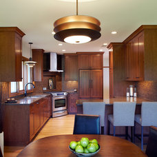 Midcentury Kitchen by White Crane Construction