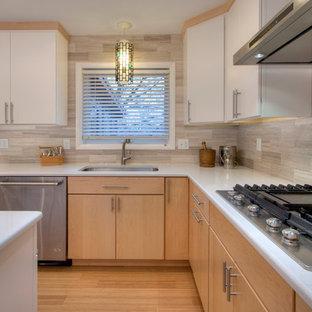 Mid-Century Kitchen Goes Modern