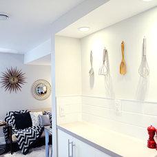 Midcentury Kitchen by Collage Interiors