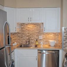 Modern Kitchen by Segal & Wilmot Design Consultants
