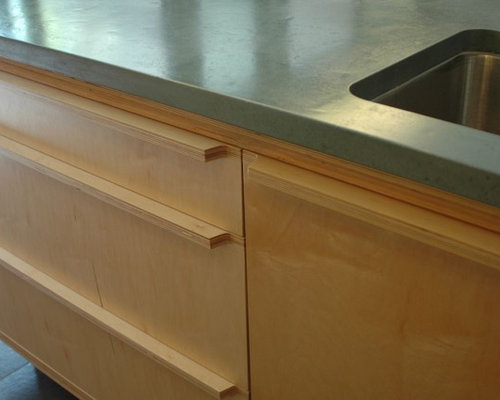 Birch ply kitchen design ideas renovations photos for Birch kitchen cabinets review
