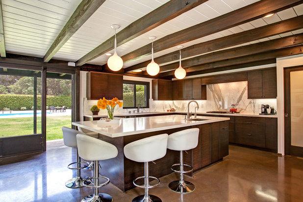 Midcentury Kitchen By Jackson Design Remodeling