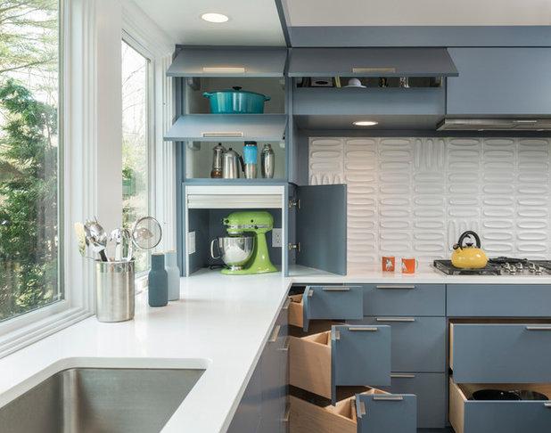 Küchenunterschränke: 11 praktische schubladen typen