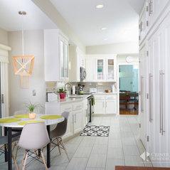 Newport News, VA. Mid Century Modern Kitchen And Bath Remodel