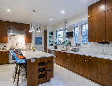 Mid Century Modern Kitchen BH