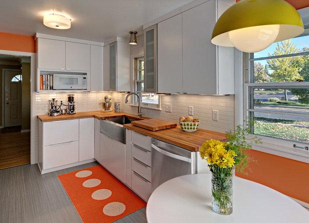 Kitchen of the Week: Midcentury Meets Sweden in Minneapolis