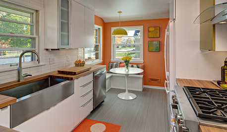The Case for the Midcentury Modern Kitchen Layout