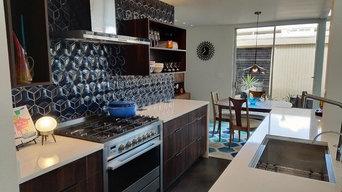 Mid-Century Modern Kitchen in Phoenix