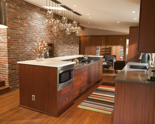Midcentury Modern Kitchen Houzz