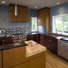 Modern Kitchen by Robin Rigby Fisher CMKBD/CAPS