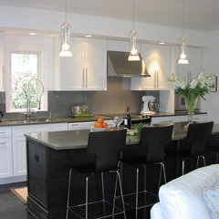 modern kitchen by Victoria Larson Textiles