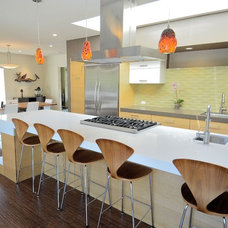 midcentury kitchen by Rich Mathers Construction, Inc.