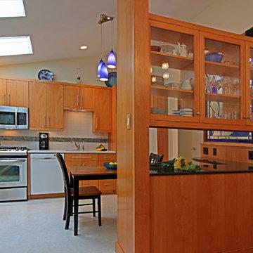 Mid-Century Modern Ranch Kitchen Remodel