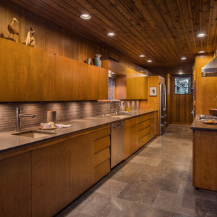 75 Beautiful Ceramic Tile And Wood Ceiling Kitchen Pictures Ideas April 2021 Houzz