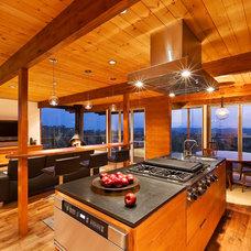 Midcentury Kitchen by AB design studio inc.