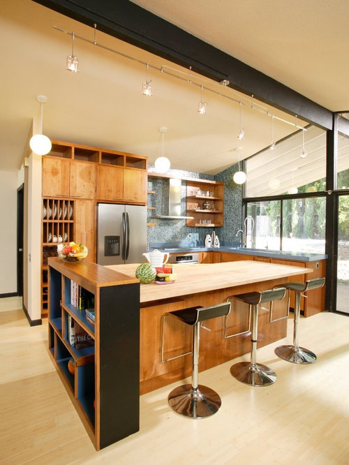Streng brothers home home design ideas pictures remodel for Mid century modern kitchen design