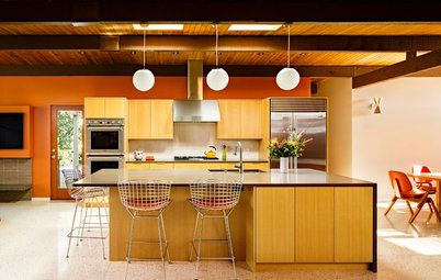 Inside Houzz: Setting a Midcentury Mood in Portland