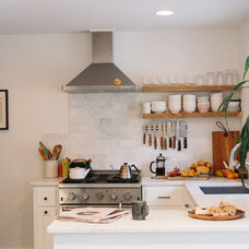 Transitional Kitchen by Crowell + Co. Interiors