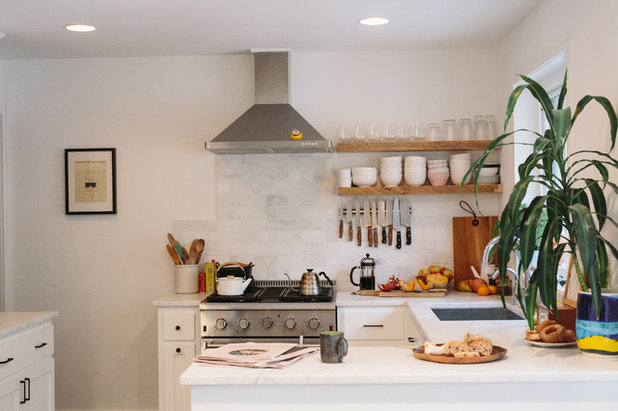 Classique Chic Cuisine by Crowell + Co. Interiors