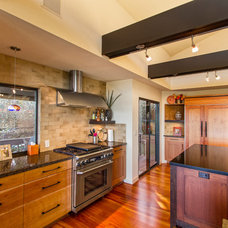 Asian Kitchen by Dogwood Interiors