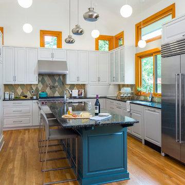 Mid-Century Split Level Addition/Whole House Remodel