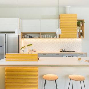 75 Most Popular Midcentury Modern Australia Kitchen Design