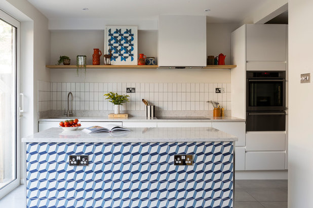 Midcentury Kitchen by Imperfect Interiors
