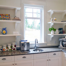 Farmhouse Kitchen by Mid Island Cabinets