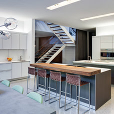 industrial kitchen by Vinci | Hamp Architects
