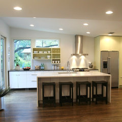 modern kitchen by Cass Cheesar Architects, LLC