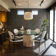 Midcentury Kitchen by J Bonneville design