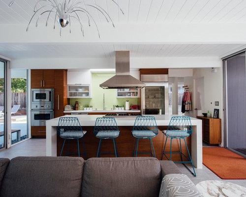 midcentury modern eichler renovation featured in dwell magazine houzz. Black Bedroom Furniture Sets. Home Design Ideas