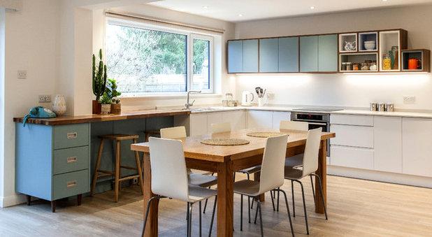 Midcentury Kitchen by Anthony Edwards Kitchens