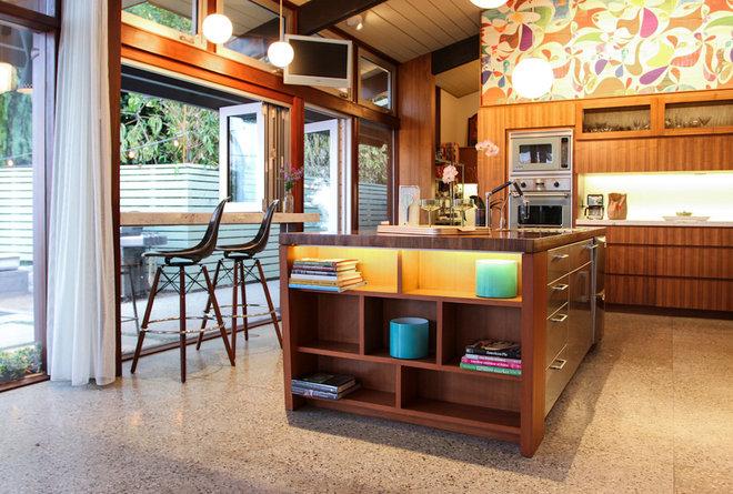 Midcentury Kitchen by Native Son Design Studio