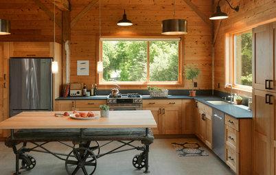 New This Week: 3 Fabulous Farmhouse Kitchens