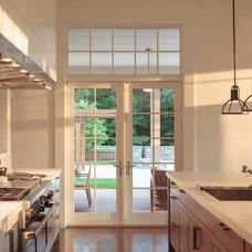Transitional Kitchen by Demetriades + Walker