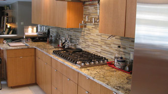 Midland - Contemporary Kitchen Back Splash